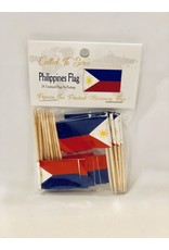 Toothpick Flags - Philippines