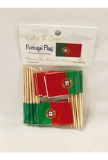 Toothpick Flags - Portugal