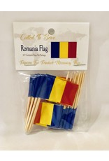 Toothpick Flags - Romania