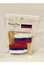 Toothpick Flags - Russia