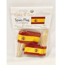 Toothpick Flags - Spain