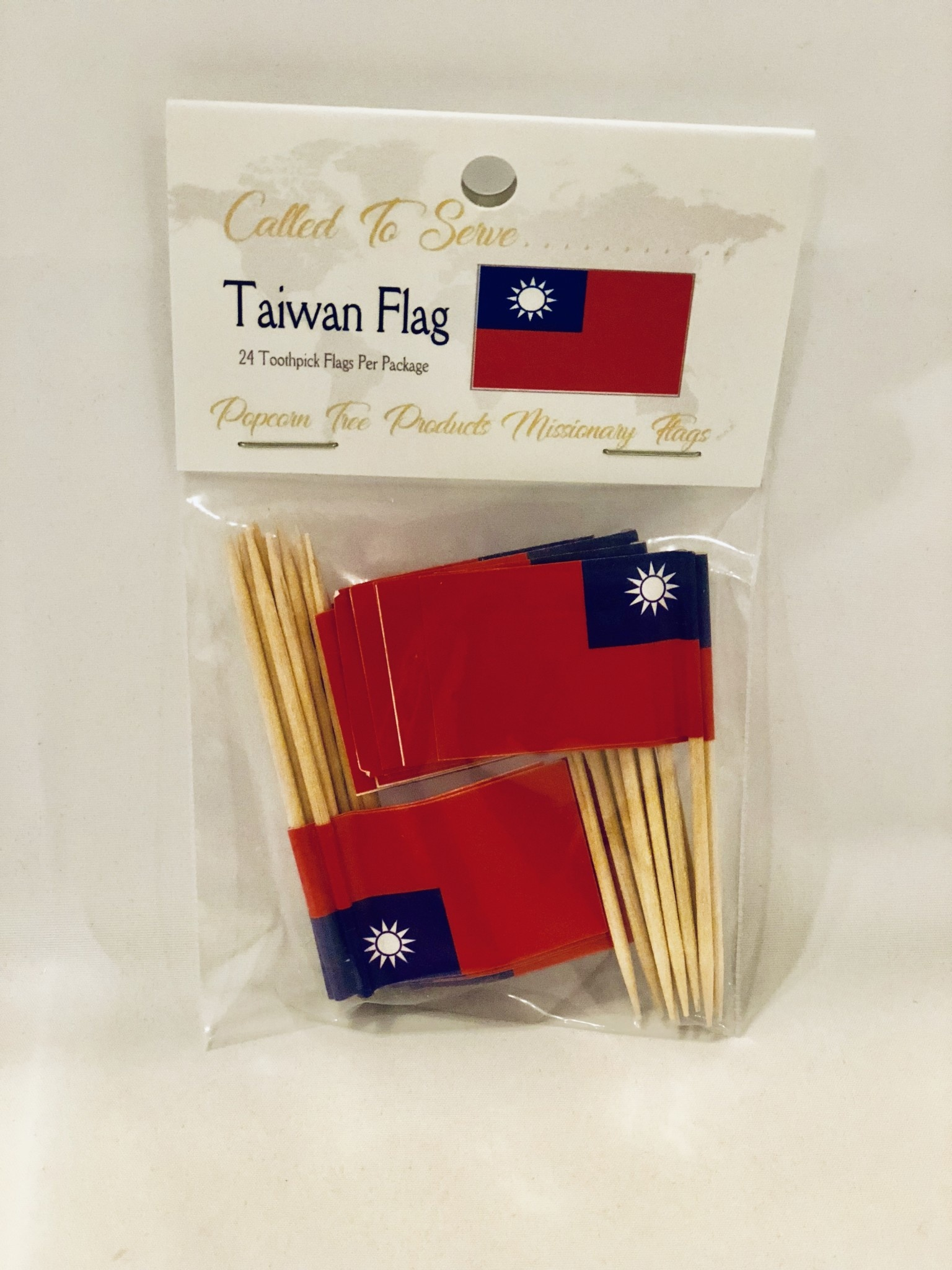 Toothpick Flags - Taiwan
