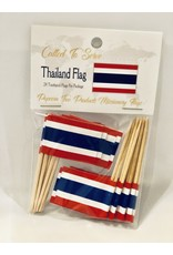 Toothpick Flags - Thailand