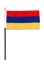"Stick Flag 4""x6"" - Armenia"
