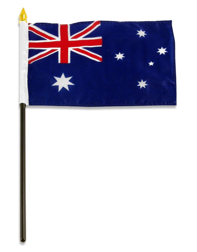 """Stick Flag 4""""x6"""" - Australia"""