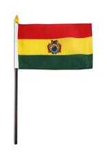 """Stick Flag 4""""x6"""" - Bolivia"""