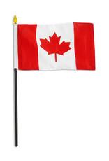 "Stick Flag 4""x6"" - Canada"