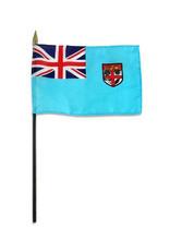 "Stick Flag 4""x6"" - Fiji"