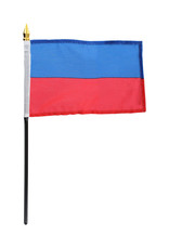 "Stick Flag 4""x6"" - Haiti"