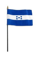 "Stick Flag 4""x6"" - Honduras"