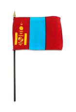 "Stick Flag 4""x6"" - Mongolia"