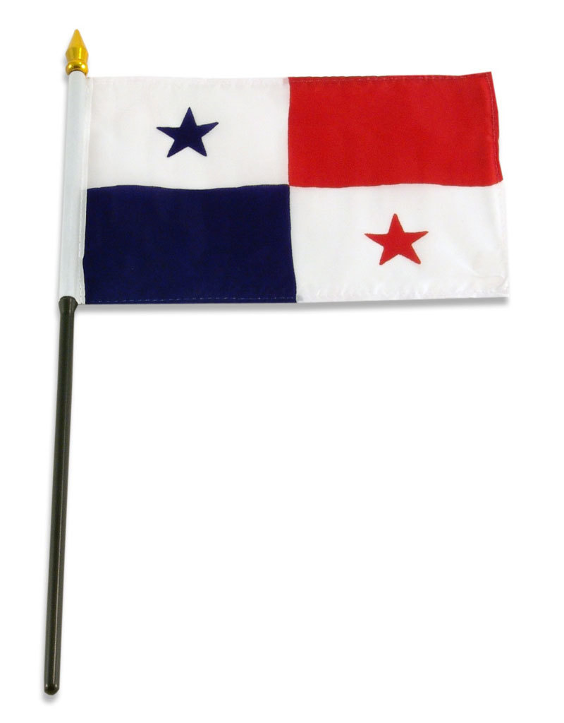 "Stick Flag 4""x6"" - Panama"