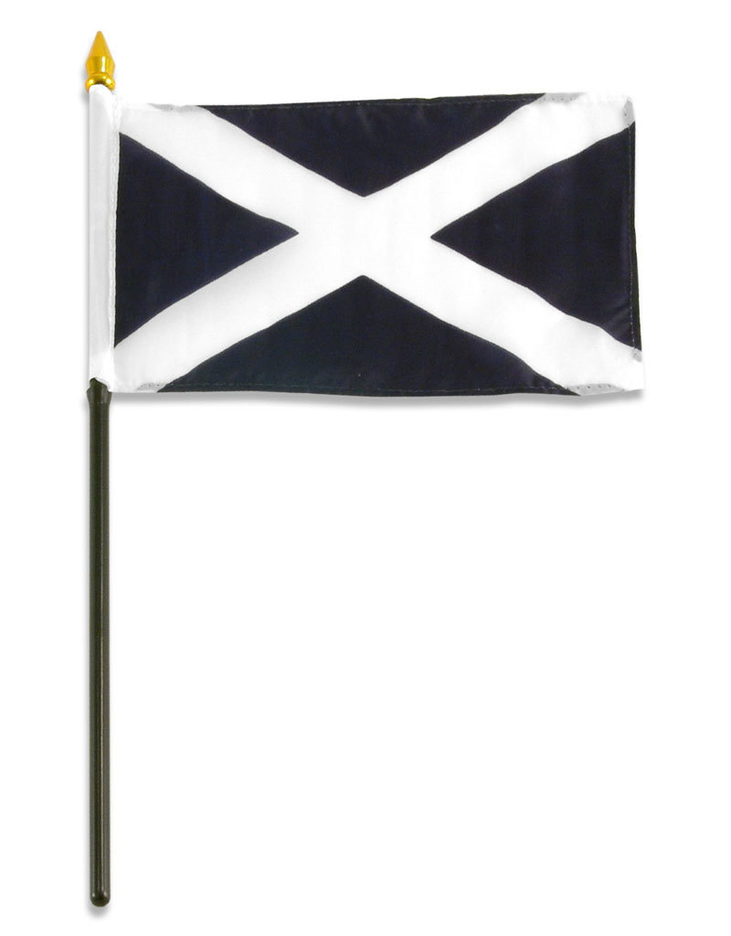 "Stick Flag 4""x6"" - Scotland"