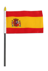 "Stick Flag 4""x6"" - Spain"