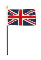 "Stick Flag 4""x6"" - United Kingdom"