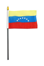"Stick Flag 4""x6"" - Venezuela"