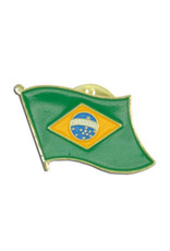 Lapel Pin - Brazil Flag