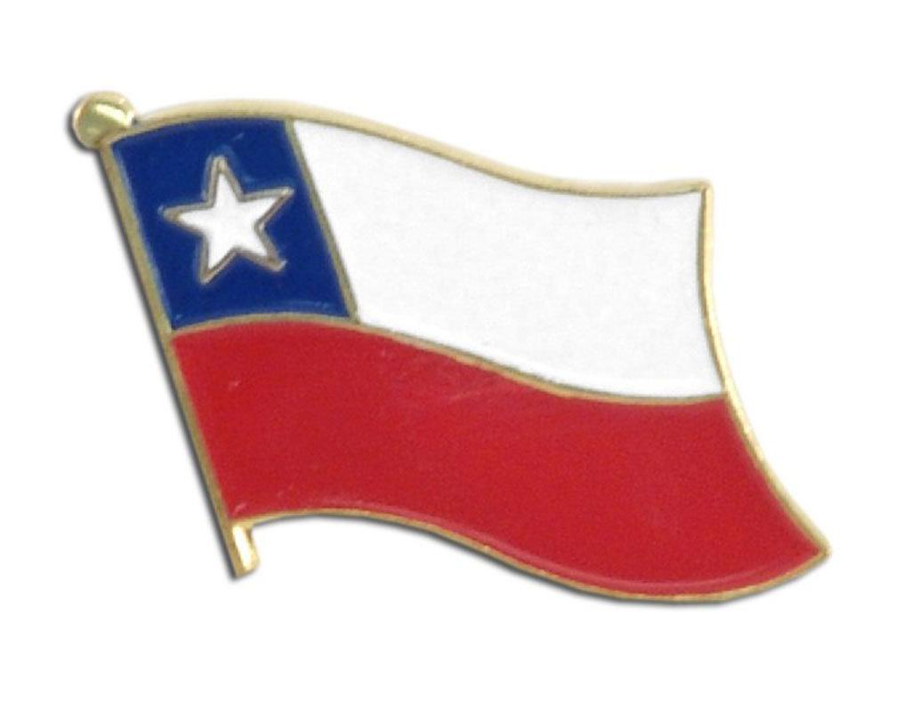 Lapel Pin - Chile Flag