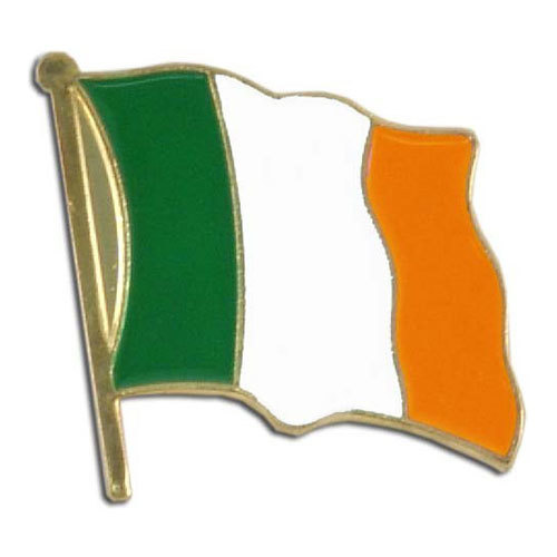 Lapel Pin - Ireland Flag