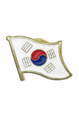 Lapel Pin - Korea Flag