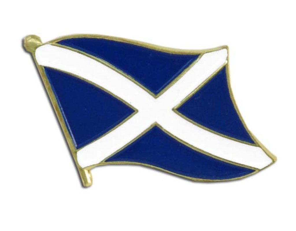 Lapel Pin - Scotland Flag