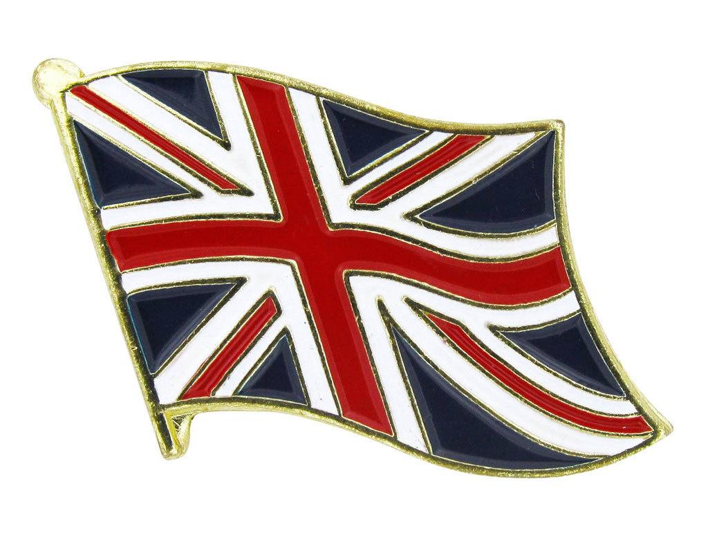Lapel Pin - United Kingdom Flag