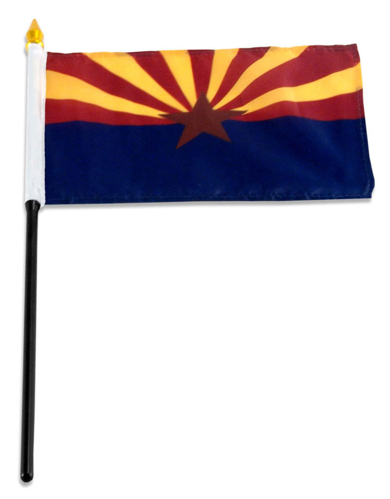 "Stick Flag 4""x6"" - Arizona"