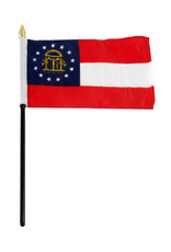"Stick Flag 4""x6"" - Georgia"