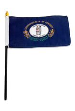 """Stick Flag 4""""x6"""" - Kentucky"""
