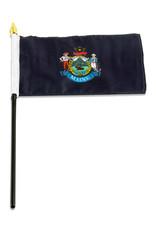 "Stick Flag 4""x6"" - Maine"