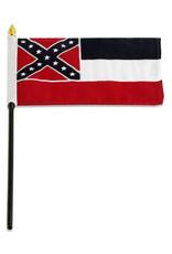 "Stick Flag 4""x6"" - Mississippi"