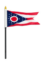"Stick Flag 4""x6"" - Ohio"