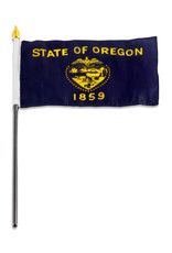 "Stick Flag 4""x6"" - Oregon"