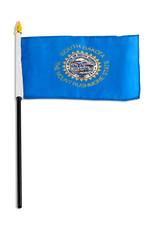 "Stick Flag 4""x6"" - South Dakota"