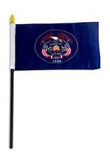 "Stick Flag 4""x6"" - Utah"