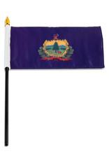 "Stick Flag 4""x6"" - Vermont"