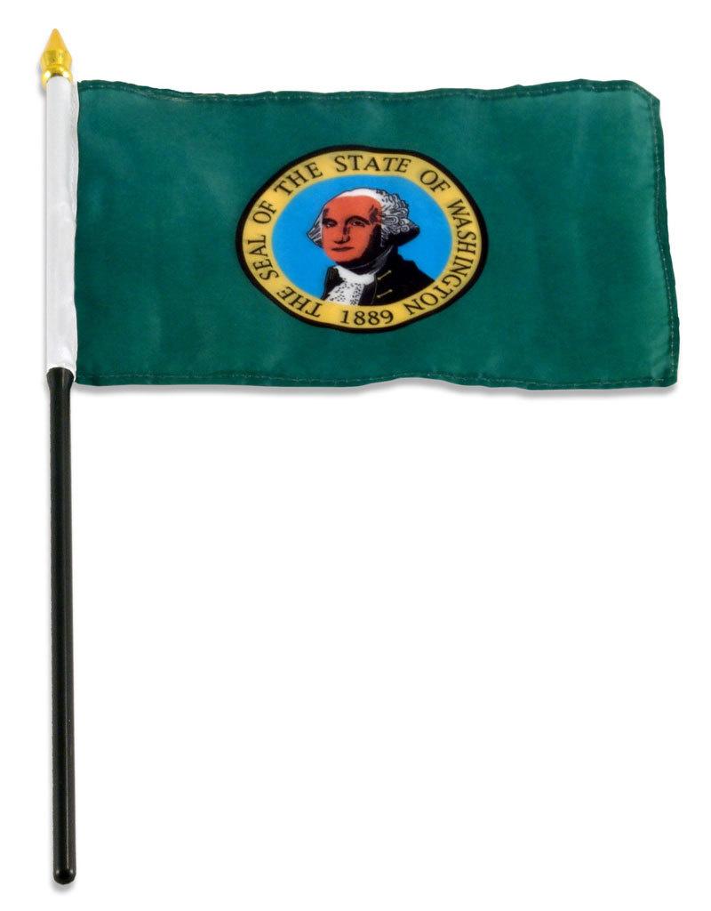 "Stick Flag 4""x6"" - Washington"
