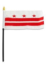 "Stick Flag 4""x6"" - Washington DC"