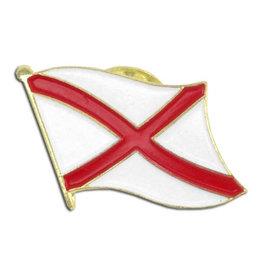 Lapel Pin - Alabama Flag