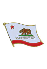 Lapel Pin - California State Flag