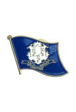 Lapel Pin - Connecticut Flag