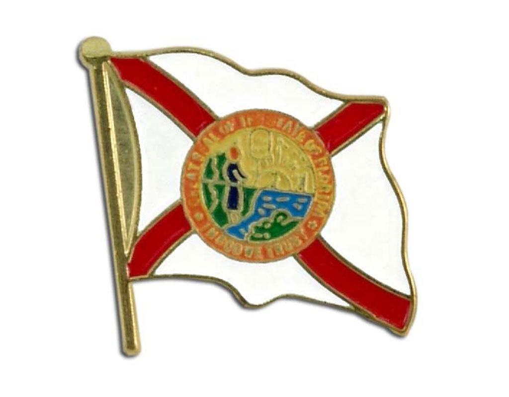 Lapel Pin - Florida Flag