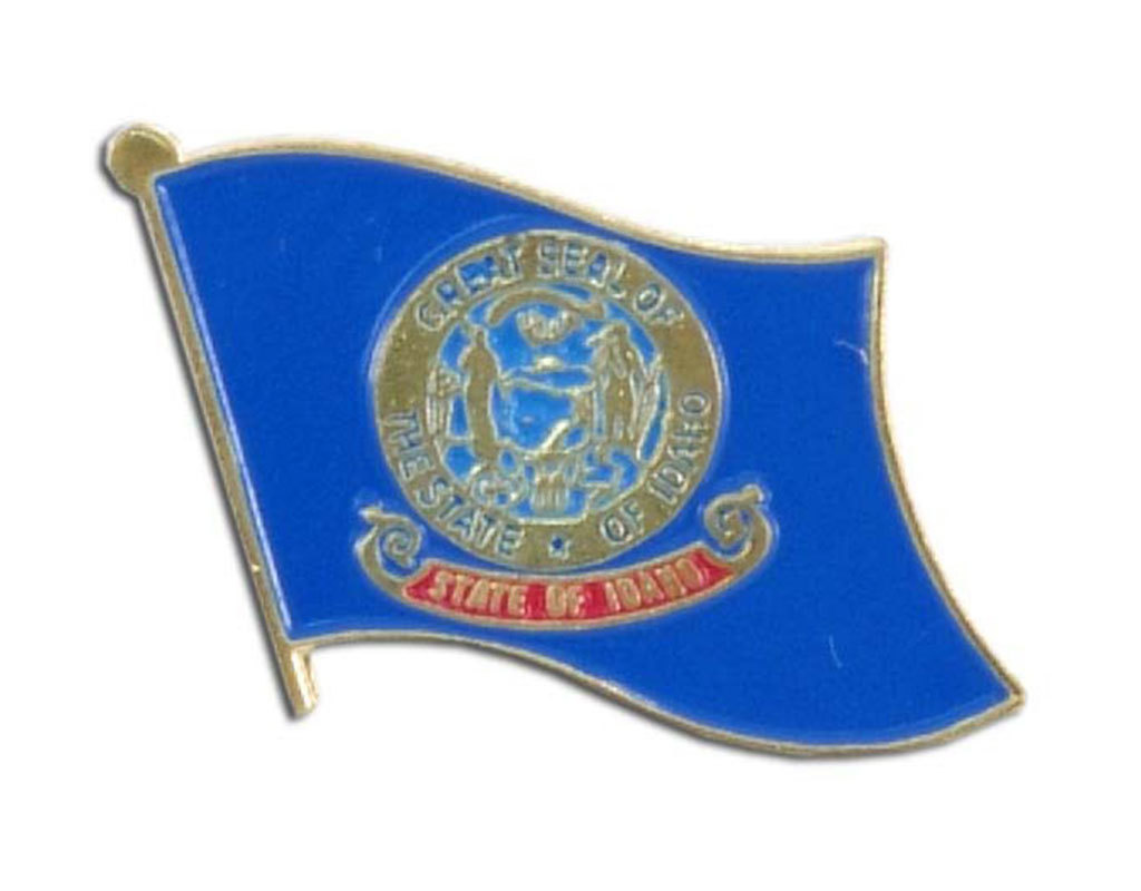 Lapel Pin - Idaho Flag
