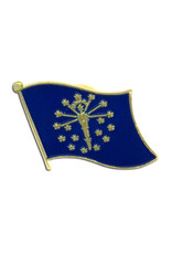 Lapel Pin - Indiana Flag