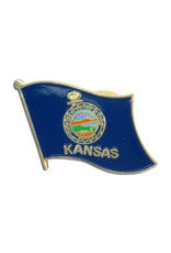 Lapel Pin - Kansas Flag