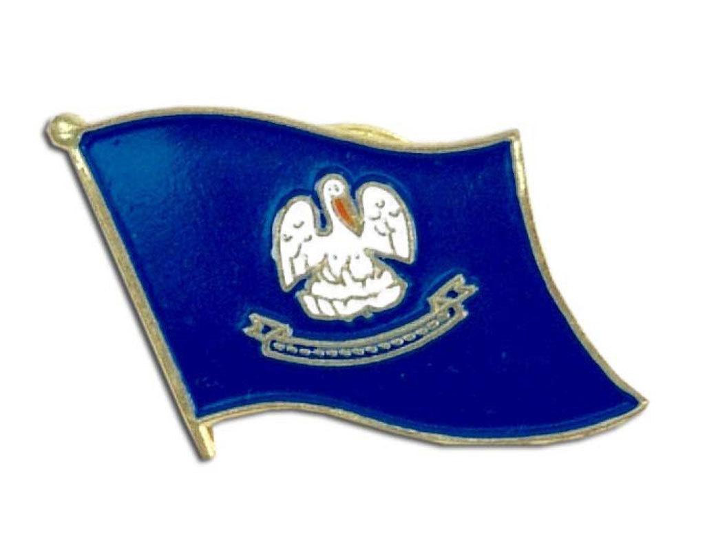 Lapel Pin - Louisiana Flag