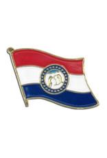 Lapel Pin - Missouri Flag