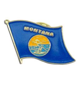 Lapel Pin - Montana Flag