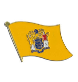Lapel Pin - New Jersey Flag