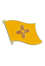 Lapel Pin - New Mexico State Flag